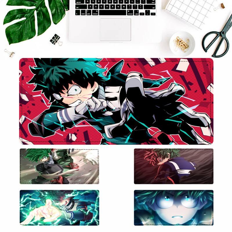 Большие акции, коврик для мыши с героями Академии Izuku Midoriya, коврик для ноутбука, ПК, компьютерный Настольный коврик для большой игровой мыши, ...