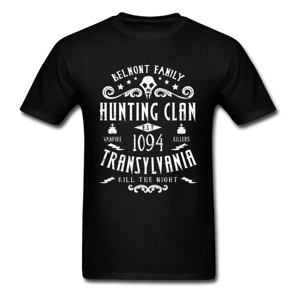 Midnite star Tops Tees verano Transilvania 100% de algodón hombres camiseta Supernatural letra impresa estudiante camiseta Hunt Clan Belmont