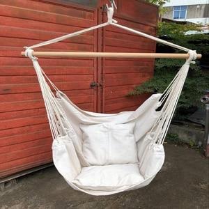 Garden Hammock Chair Portable Travel Camping Hanging Hammock Swing Chair Hammocks Maximum Load 150KG