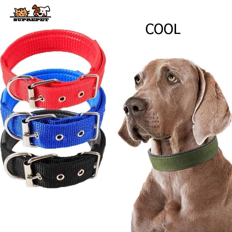 SUPREPET Cool perro cuello espuma de Color suave ajustable mascota gato cuello duradero para perros pequeños medianos grandes
