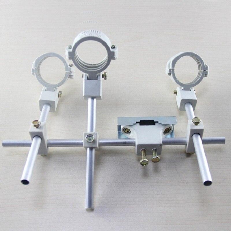 Кронштейн KU LNB держатель удерживающий до 4 ku band LNB 4 satellite LNB Сделано в Китае