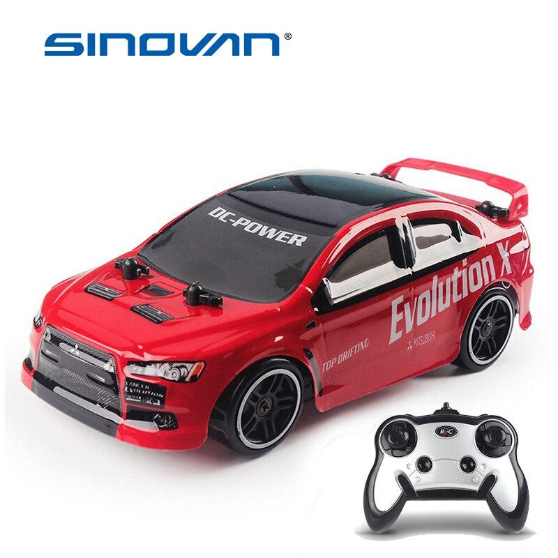 Carro de corrida de controle remoto 30 km/h 2.4g rc carro 4wd rc drift velocidade controle de rádio off-road veículo brinquedos para crianças presente