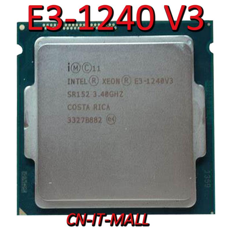 Процессор Intel Xeon E3-1240 V3 cpu 3,4 ГГц 8 м 4 ядра 8 потоков LGA1150