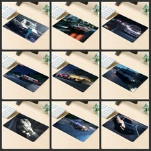 XGZ grande Promotion tapis de souris de jeu populaire Anime voiture course sentiments ordinateur bureau tapis en caoutchouc rayures anti-dérapant personnalisé sous-verres