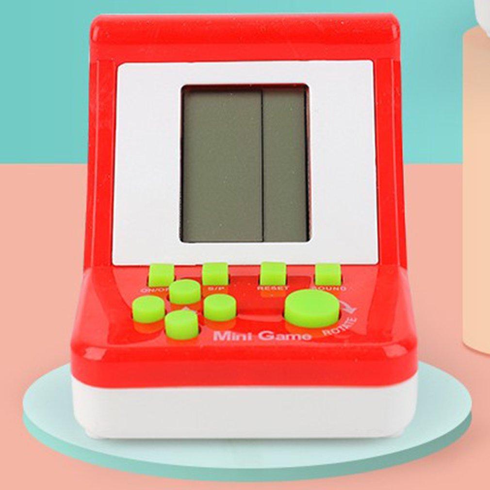 Портативная игровая консоль в стиле ретро, игровые приставки с большим экраном, карманные игрушки, Классическая развивающая игровая консол...