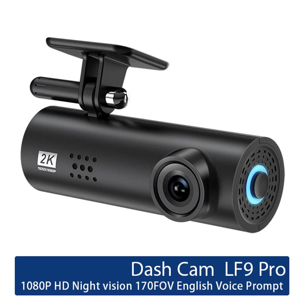 LF9 Pro WiFi Dashboard Camera G-sensor Dash Cam 1080P FHD Car DVR Night Vision Outdoor Personal Car Parts Decoration