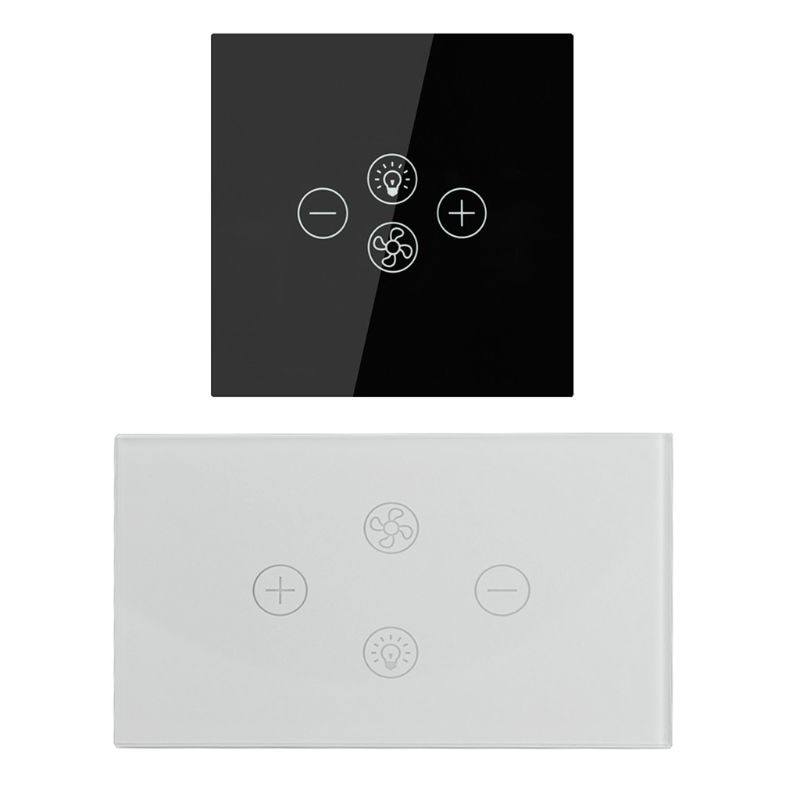 مروحة سقف ذكية مع مفتاح Wifi ، تحكم صوتي ، مؤقت ، جهاز تحكم عن بعد لاسلكي