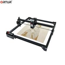 40x43cm Ortur Laser Master 2 bricolage Laser Machine de gravure bureau bois Logo graveur CNC bois routeur 20W Laser graveur Cutter