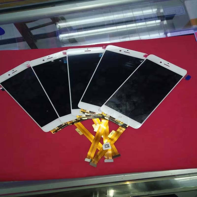 Pantalla LCD negra/blanca de 5,2 pulgadas + MONTAJE DE digitalizador con pantalla táctil reemplazo de teléfono inteligente para ZTE nubia Z11 mini S NX549J marco