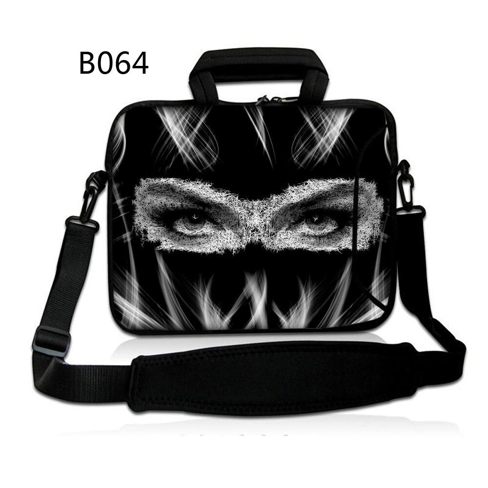 "Senhora preta 10 ""netbook portátil bolsa de ombro caso para hp microsoft surface 2 galaxy tab s/asus transformador livro t100/t100ta"