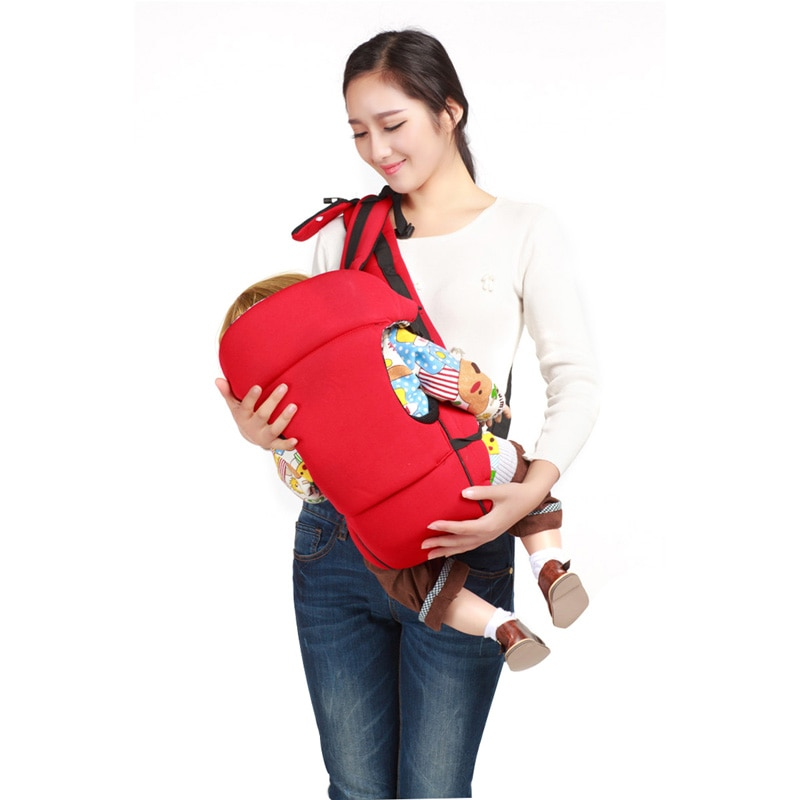 Multifunctional Cotton Baby Carrier Infant Kid Baby Sling Front Facing Kangaroo Baby Wrap Carrier for Baby Travel 0-36 Months