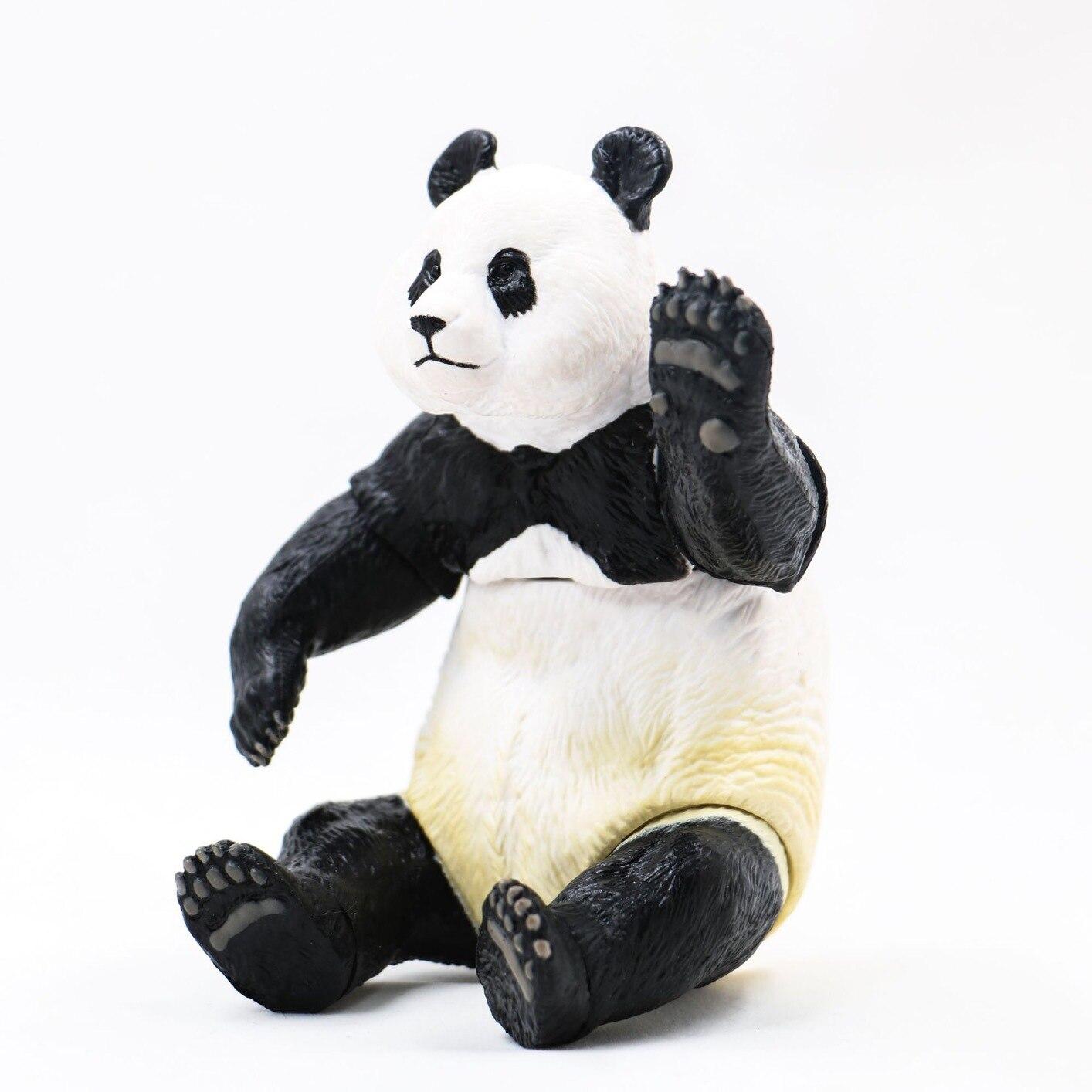 Donghong Anime shan kou shi Box003 Adorable lindo chico Panda Tesoro Nacional móvil garaje Kit de modelo
