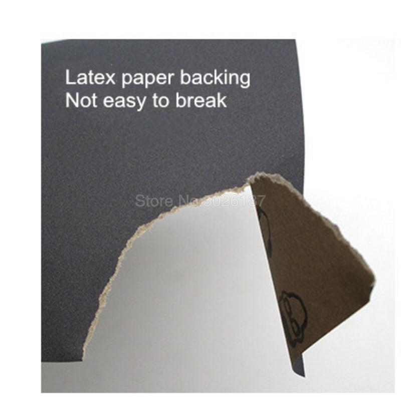 1 stks 93x230mm Lange Vierkante Schuurpapier Nat Droog Schuurpapier - Schurende gereedschappen - Foto 4