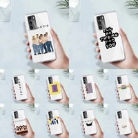 friends tv show door phone case transparent for huawei mate p 40 30 20 10 pro plus lite x 5g soft tpu clear mobile bags