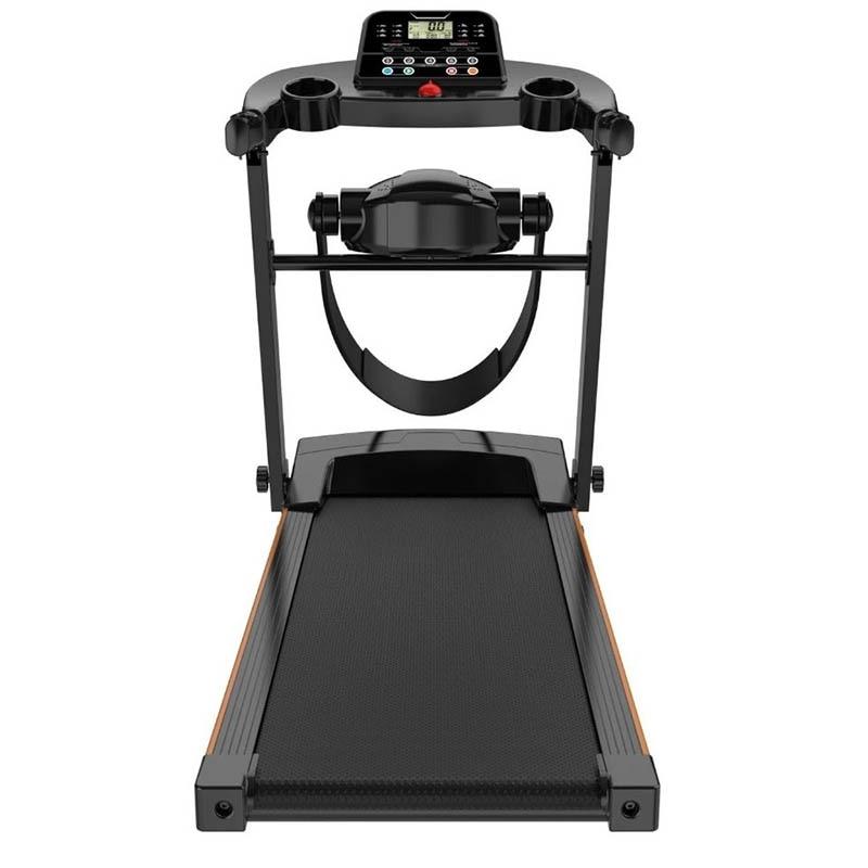 Cinta de correr eléctrica CP-S1, equipo deportivo para el hogar silencioso, plegable, para pérdida de peso, velocidad Variable, frecuencia cardíaca, XB