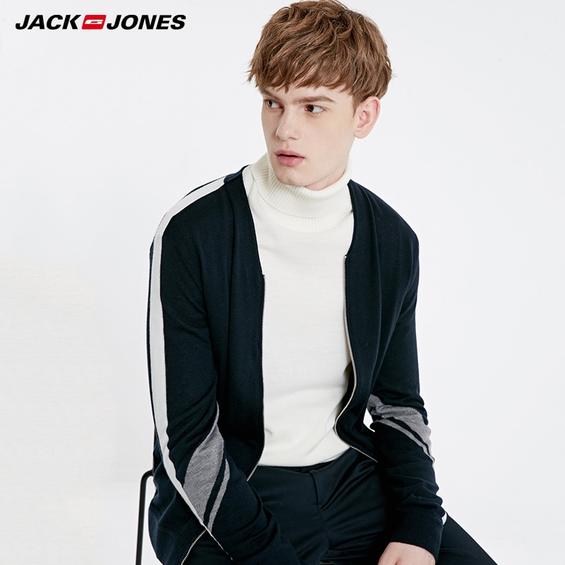 Nuevo jersey casual de manga larga para hombre de primavera Jack Jones   219125501