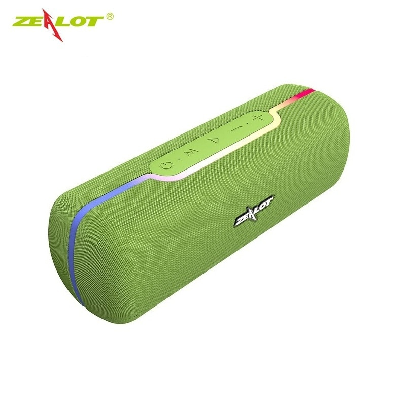 ZEALOT S55 Bluetooth Speaker with Hi-Res 10W Audio, Extended Bass and Treble, Wireless HiFi Portable Speaker