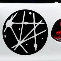 car door moon car accessories exterior vinyl car stickers cool car window decor hot selling