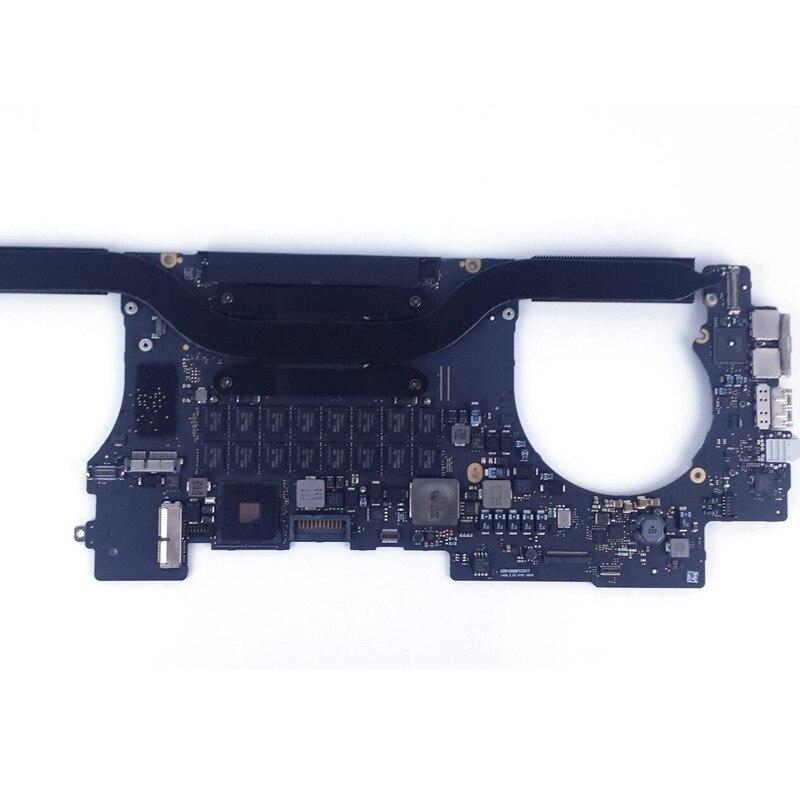 """661-02526 para Macbook Pro 2,5 GHz 15 """"a mediados de 2015 16GB placa lógica nvdia 750m 2gb 820-00163-A"""