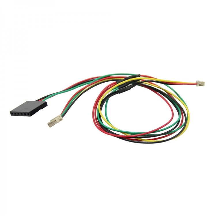 3 pces 25cm apm 2.6 3dr telemetria osd y cabo de conexão telemetria osd y-cable v2