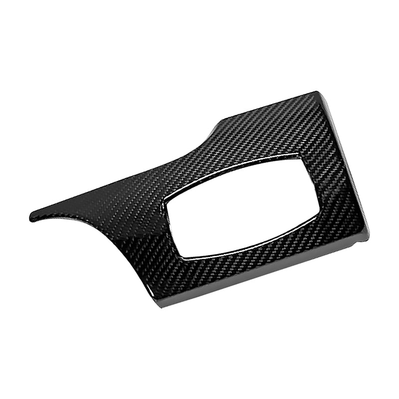 1pc Car Headlight Switch Panel Cover for Ford Mustang 2015-2017 Carbon Fiber Dash Board Modification Cover Auto Interior Parts enlarge