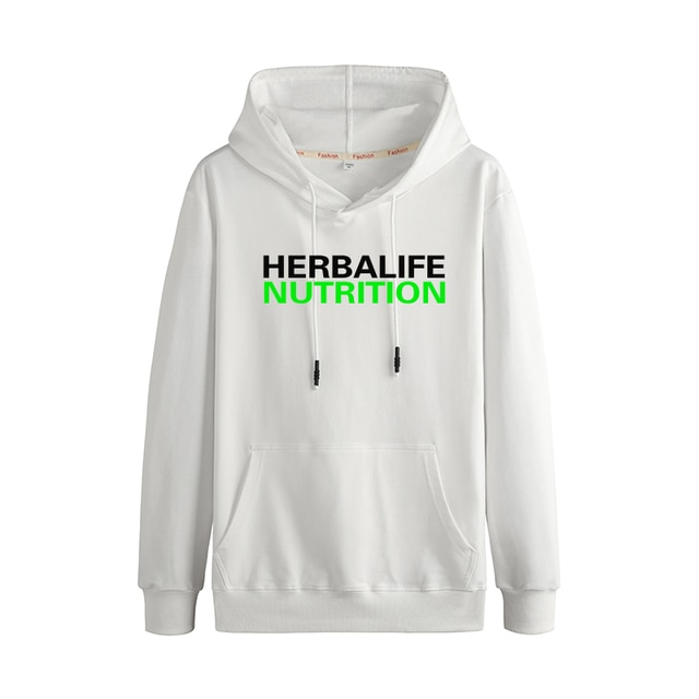 herbalife nutrition Autumn And Winter Fashion Trend Casual Stitching Couple Hooded Sweater 2