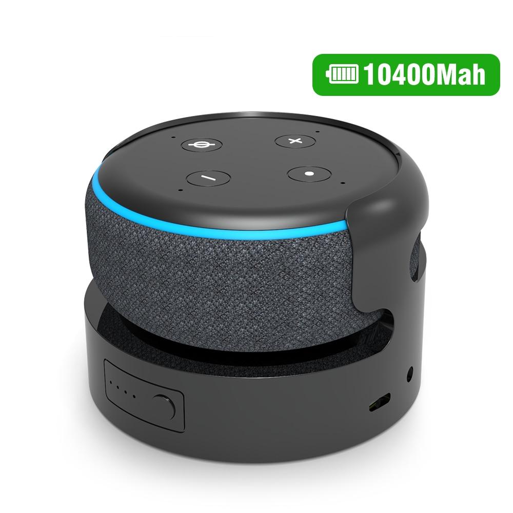 Echo Dot-3 Base de batería para Echo Dot 3, Base de carga...