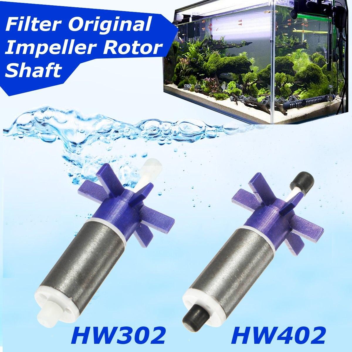 Accesorios de filtros, impulsor de filtro cilíndrico HW302 HW402, eje del Rotor...