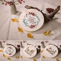 diy embroidery cross stitch kit handmade sewing craft needlework set beginners embroidery sit for decoration wall hangs ornament