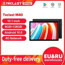 Teclast M40 10.1 ''Tablet 1920x1200 4G רשת UNISOC T618 אוקטה Core 6GB RAM 128GB ROM טבליות PC אנדרואיד 10 כפולה Wifi סוג-C