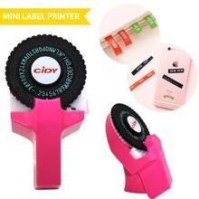 Ménage Mini manuel étiquette Machine Hidi C101 gaufrage Machine Machine à écrire main rideau décoratif ruban papier pour 9mm ruban # R10