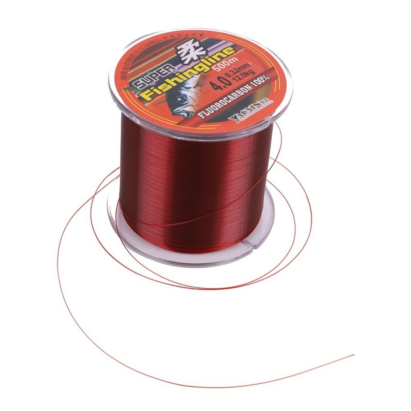 500M High Weight Nylon Fishing Line Monofilament Leader Fly Line Super Strong Abrasion Resistance Wire For Freshwater Saltwater enlarge