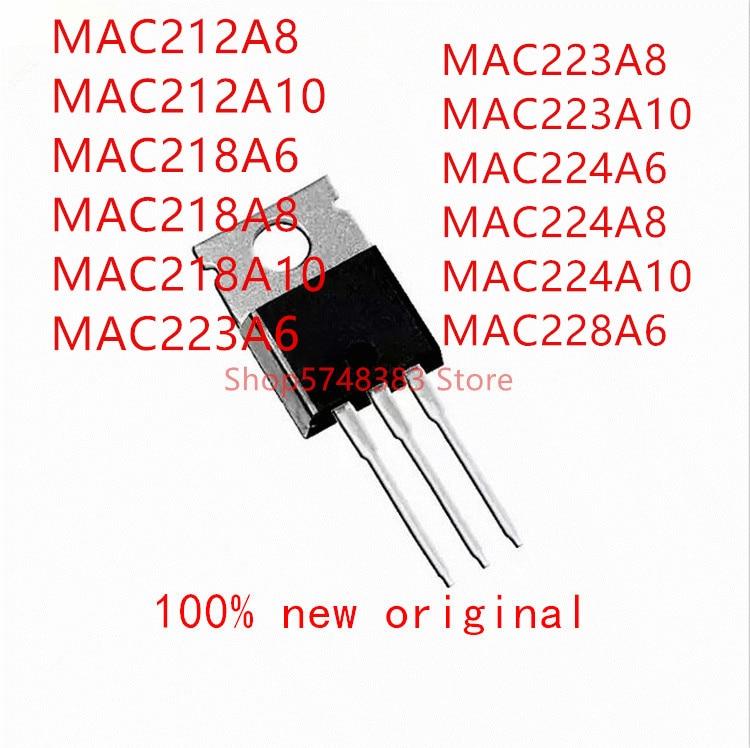 10pcs-mac212a8-mac212a10-mac218a6-mac218a8-mac218a10-mac223a6-mac223a8-mac223a10-mac224a6-mac224a8-mac224a10-mac228a6-to-220