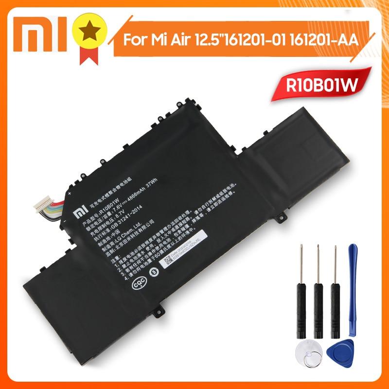 Xiaomi R10B01W Replacement Phone Battery For Xiaomi Mi Air 12.5-inch Laptop 161201-01 161201-AA 4866