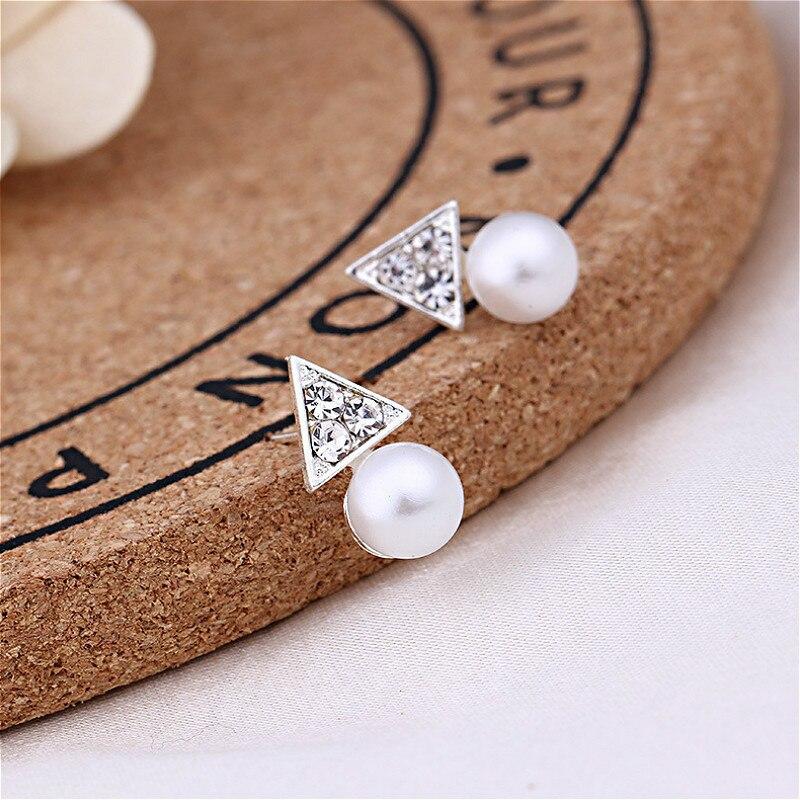 1 Uds. De moda con perlas de aretes de diamantes con pendientes de diamantes, recuerdos de fiesta para el Día de San Valentín, regalos para invitados, recuerdos de fiesta