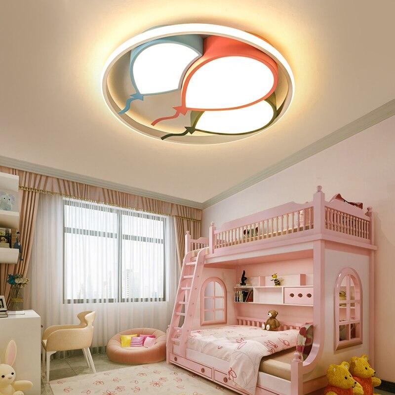 Globo nórdico para decoración del hogar para niños, lámpara led regulable para...