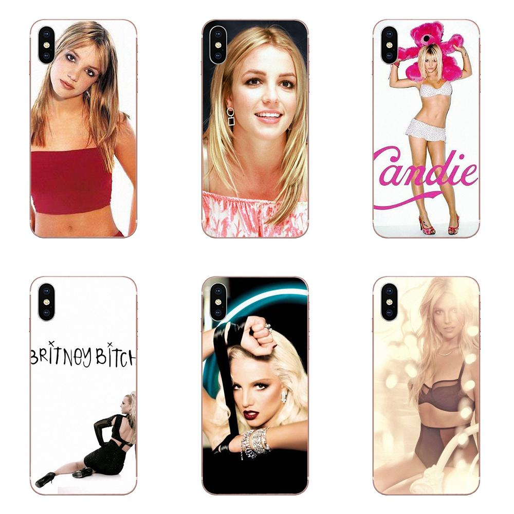 Para Samsung Galaxy A10 A20 A30 30S A40 A50 A50S A60 A70 A70S A80 A20E A51 A71 A9 2018 teléfono Coque Britney Spears firma