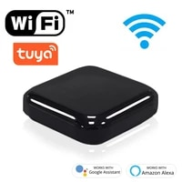 Tuya Smart Remote Control WiFi IR Voice Control Intelligent Controller Smart Home Automation Device Work With Alexa Google Home