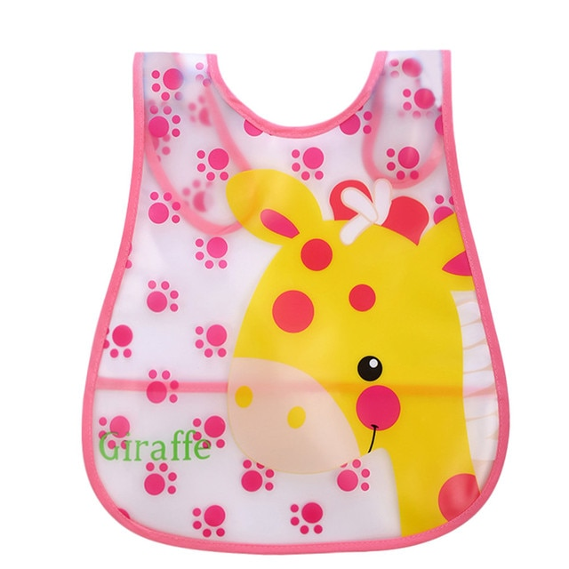 #30 Infant Baby Bibs Waterproof High Quality Mouth To Baby Cloth Cute Kid Baby Soft Cartoon Bib Waterproof Saliva Slabbetjes 4