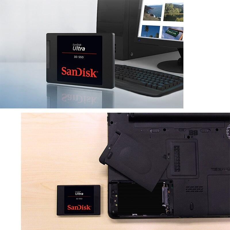 Sandisk ULTRA 3D SSD 500GB Hard Disk 1TB Internal SSD 2tb Solid State Disk Hard Drive Ssd 250gb SATA3.0 6Gb/s For Laptop Desktop enlarge