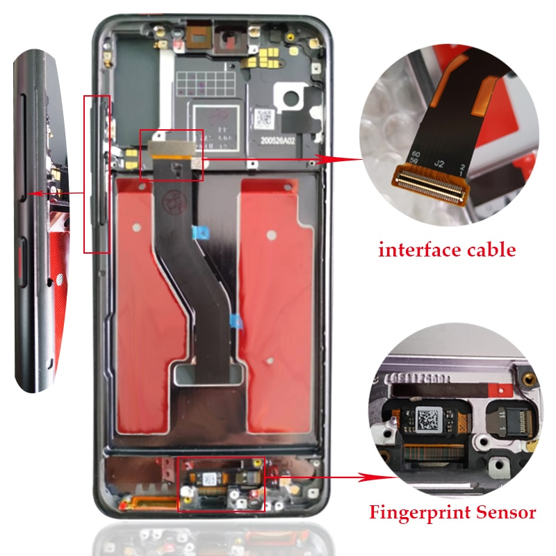 Display For Huawei P20 Pro CLT-L29 LCD Display Touch Screen Digitizer Assembly Replacement LCD For Huawei P20 Pro Screen 6.1inch enlarge