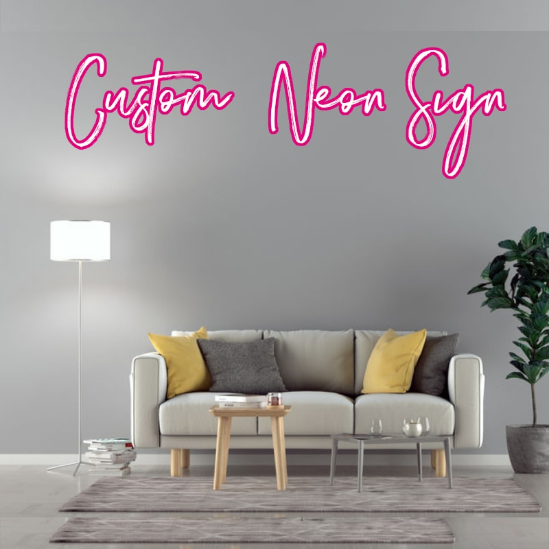 Custom Led Wedding Neon Night Lights Sign For Room Bedroom Decor Wall Decoration with dimminng plug powered
