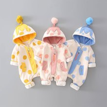 In Spring, Summer and Autumn of 2021, Boys and Girls' Baby Long-sleeved Jumpsuits Are Super Cute For