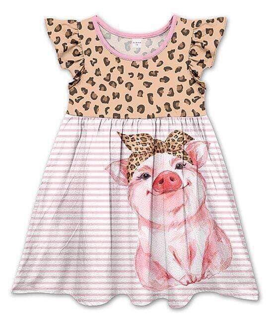 Somke diseño aleteo manga leche seda adorable vestido para niñas sin mangas diseño de funda corta Frock Boutique ropa niñas vestido