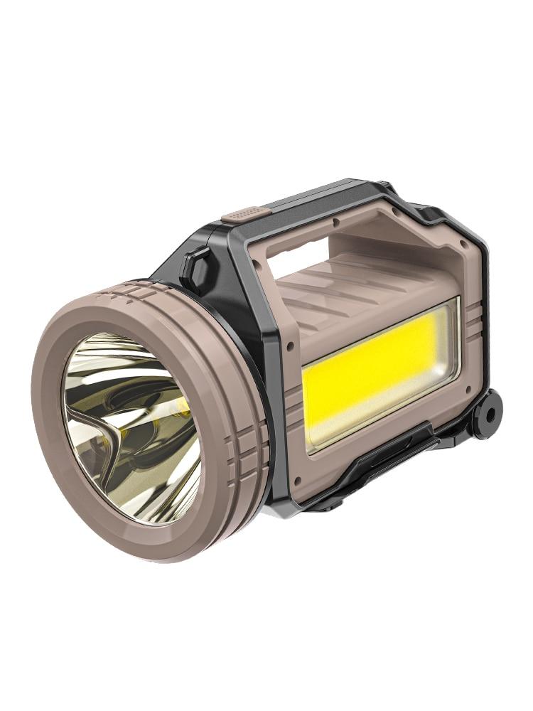 Flashlight Lanterns Camping Light Rechargeable Search Light Powerful Lantern Inspection Lamp Linternas Outdoor Supplies BI50PL enlarge