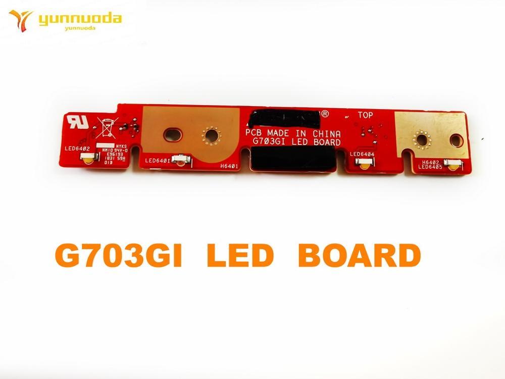 لوحة LED أصلية لـ ASUS G703GI ، تم اختبارها ، شحن مجاني