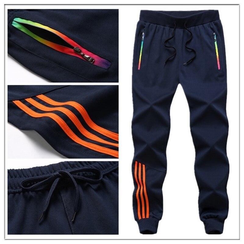 AliExpress - Striped Pants Men Jogger Casual Mens Sweatpants Sportswear Long Trousers New Straight Pant Man Fitness Clothing
