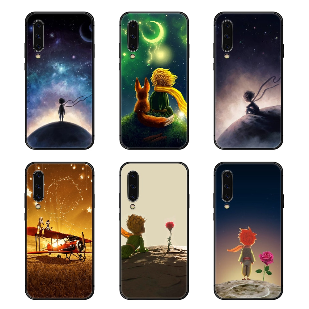 Le Petit Prince Phone Case Cover For Samsung Galaxy A10 A20 A30 E A40 A50 A51 A70 A71 J 5 6 7 8 S black bumper luxury prime