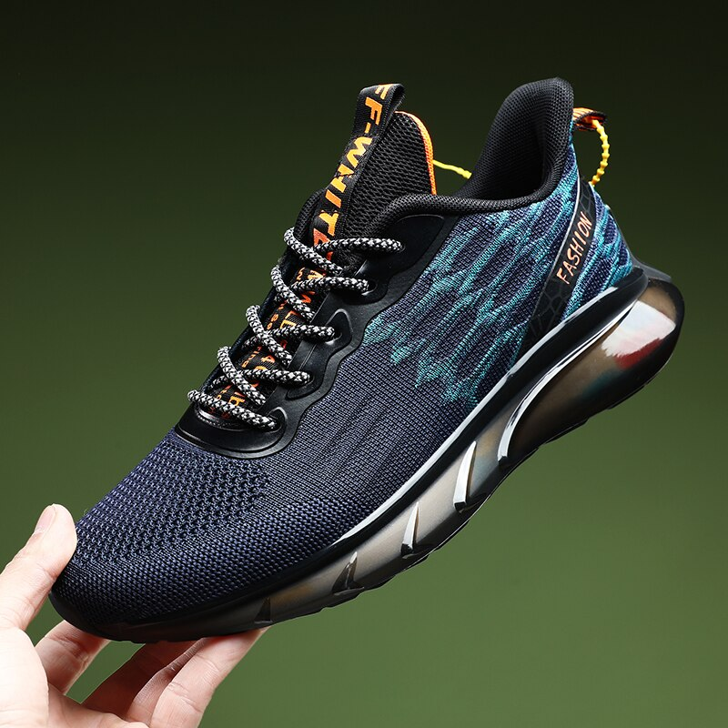 Running Shoes Men Soft Comfortable Sports Shoes for Men Lace Up Trend Sneakers Breathable Casual Shoes Outdoor Jogging Footwear