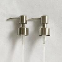 Distributeur de savon liquide en acier inoxydable 304  1 piece  buse pour salle de bain  cuisine  mousse  accessoires  fournitures